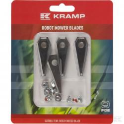 Nóż kosiarki dla Bosch 9szt